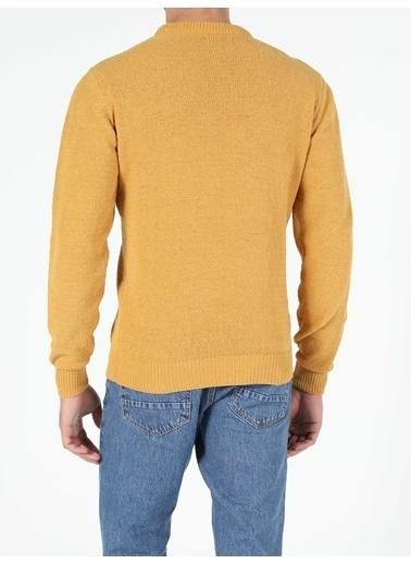 Colin's Regular Fit Erkek Sarı Kazak Sarı